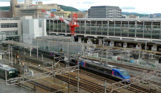 近鉄京都駅改良工事 09.08