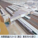 JR琵琶湖線-米原駅橋上化工事