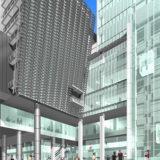 新歌舞伎座 外壁に唐破風