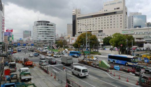 阪神本線-三宮駅改良工事 10.03
