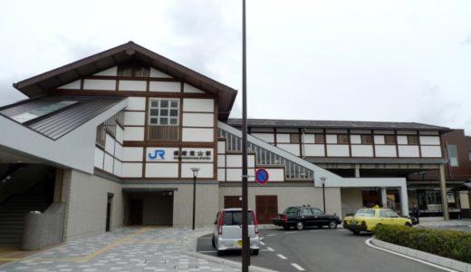 JR嵯峨野戦-嵯峨嵐山駅