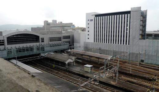 近鉄京都駅改良工事 10.07