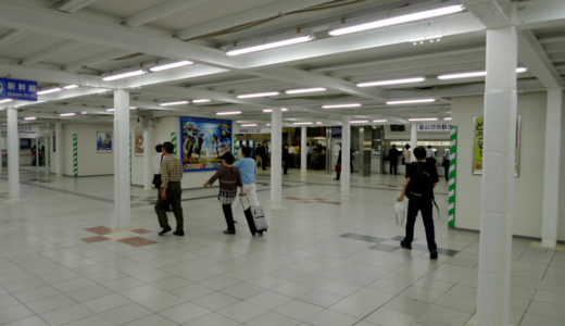 新大阪駅コンコース改良工事 10.07