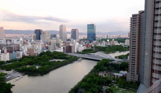 帝国ホテル大阪から見たOBP