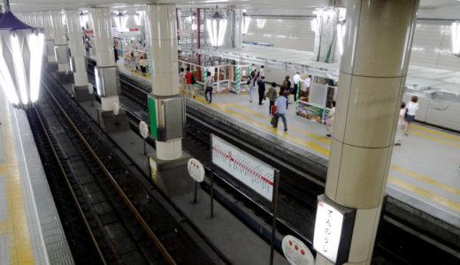 地下鉄天王寺駅-御堂筋線ホーム改良工事 10.09