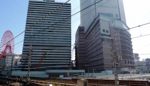 阪急梅田本店・二期棟建設工事 10.10
