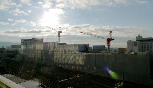 近鉄京都駅改良工事 10.11