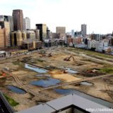 うめきた二期地区として再開発が予定されている「JR貨物梅田駅」解体工事 14.08