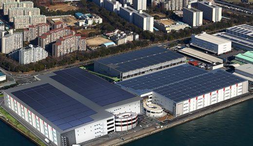 大阪南港に日本最大級・延床面積28.3万㎡の物流施設が誕生!レッドウッド南港中ディストリビューションセンター1・2の状況 17.09
