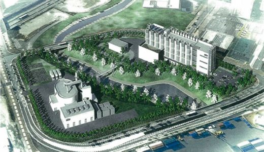 NITE(ナイト)が大阪・咲洲コスモスクエア地区に建設中の世界最大級の大型蓄電池の試験・評価施設の状況 16.01