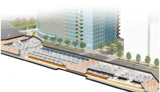 阪神電車が阪神梅田駅の改良工事を発表!ホームの拡幅、可動式ホーム柵の整備、バリアフリー化を実施!