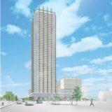 札幌市(仮称)北8西1地区第一種市街地再開発事業の状況 15.04
