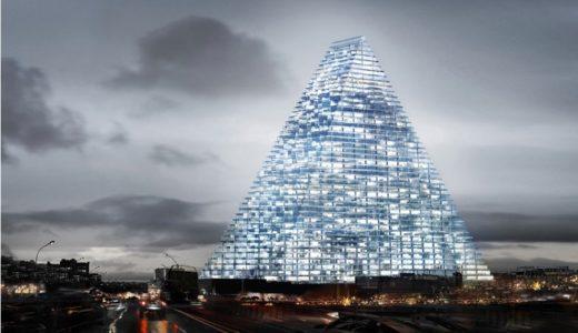 パリ市内に40数年ぶりに建設される超高層ビル、トゥールトライアングル(Tour triangle paris)