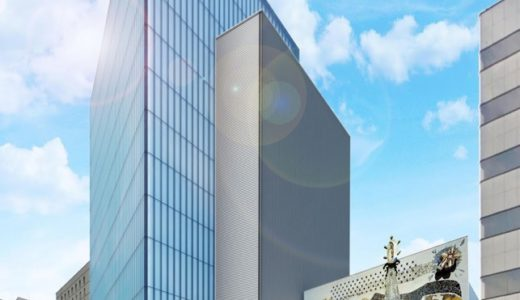 大阪商工信用金庫新本店ビルの建設状況 15.12