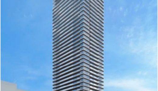 グランドメゾン御園座タワーの建設状況 16.05