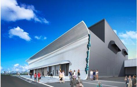 国内最大級ライブハウス「Zepp Osaka Bayside」の建設状況 16.06