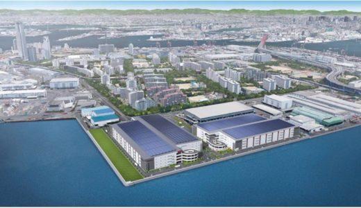 大阪南港に日本最大級・延床面積27.2万㎡の物流施設が誕生!レッドウッド南港中ディストリビューションセンター(仮称)の状況 16.01