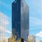 W OSAKA(W大阪)の外観イメージは海外のビルの様なクールなデザイン!安藤忠雄氏が設計顧問を担当!