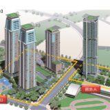 福岡市のアイランドシティに32〜46階建て超高層マンション4棟の建設計画が浮上!