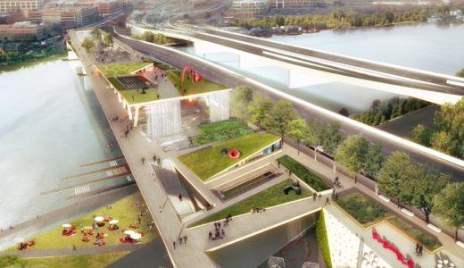 老朽化した橋を公園に変える「ワシントンD.C.版ハイライン計画」