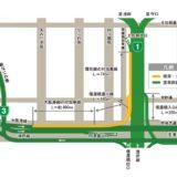 阪神高速-西船場JCTの建設状況 15.12
