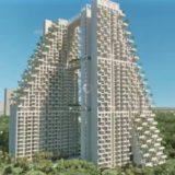 2つのタワーマンションを3つのブリッジで連結し、屋上にプールを設けたシンガポールのSKY HABITATが凄い!