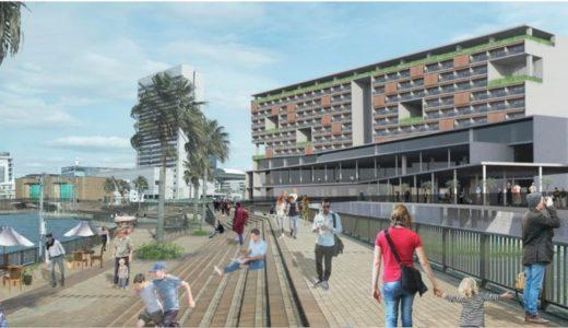 旧堺港沿いにリゾートホテル、飲食、物販、温浴・スパで構成された複合施設が誕生!大浜北町市有地活用事業の優先交渉権者が決定