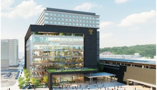JR九州が「熊本駅ビル」の開発概要を発表!新駅ビルは地上12階、地下1階建て、延べ床10.7万㎡の規模で2021年春の開業を予定