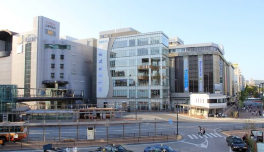 QWELL キュエル姫路は、JR姫路駅前誕生した飲食店とバスセンターが入居する複合ビル
