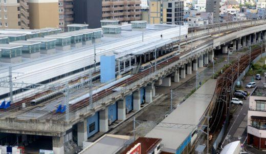 北陸新幹線高架を「えちぜん鉄道」が走る!新幹線福井駅部を3年間の期間限定で借用