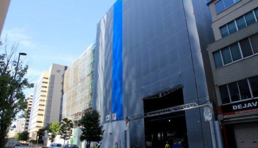 ホテルヴィスキオ大阪 by GRANVIAーJR西日本の新ブランドホテルの建設状況 17.09