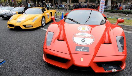 フェラーリ100台が御堂筋に集結!「御堂筋オータムパーティー2015」は圧巻の光景!