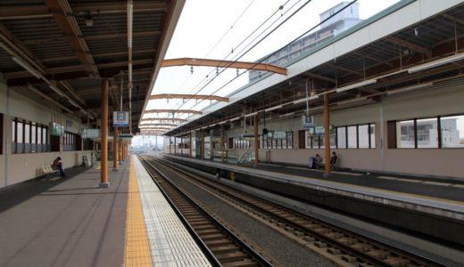 南海本線-松ノ浜駅高架化工事 16.04 〜ホーム・軌道編〜