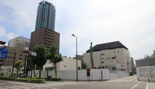 ザ・シンフォニーホールの東側に建設されるタワーマンション(仮称)大淀南2丁目計画建築計画の状況 16.07