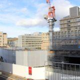 工事を再開した、MUSEたかつき阪急不動産高槻複合棟Bの状況 14.12