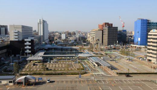 完成した金沢駅西広場再整備事業