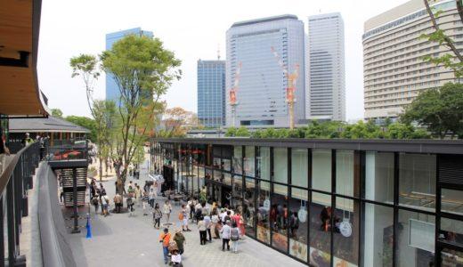 オープンしたJO-TERRACE OSAKA(ジョー・テラス・オオサカ)は「てんしば」に続く都会のオアシス、憩いの場だった!