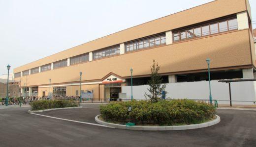 南海本線-松ノ浜駅高架化工事 16.04 〜駅前広場・改札階編〜
