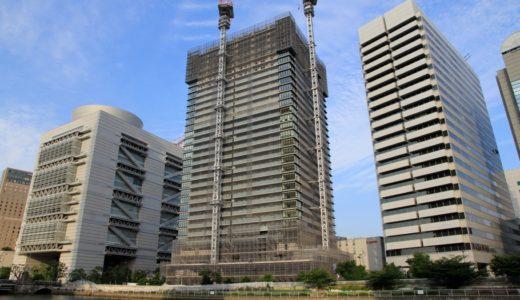 日本一の免震タワーマンション「ザ・パークハウス中之島タワー」の状況16.06