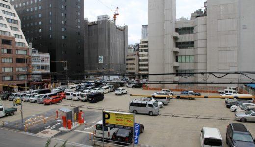 住友不動産が取得した瀧定大阪旧本社ビル解体工事の状況 15.10