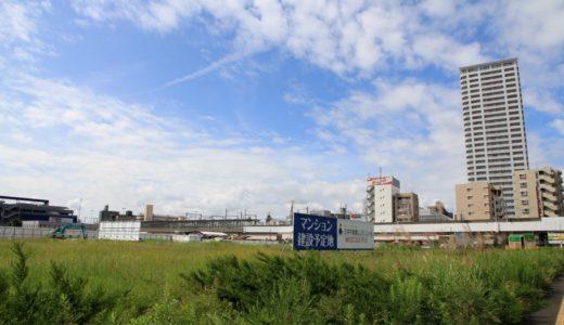 (仮称)太白区あすと長町一丁目計画新築工事の状況 16.09