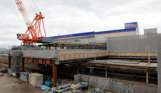 JR神戸線-尼崎駅改良工事 14.03