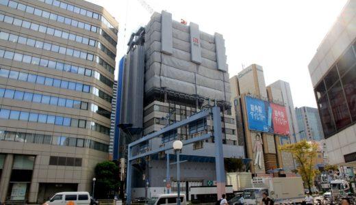 (仮称)ホテルモントレ梅田 新築工事の状況 17.09