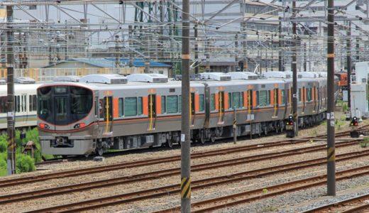 大阪環状線の次期主力車両「323系」を森ノ宮電車区で目撃!今後のホームドアの普及を見越したカラーリングが秀逸。