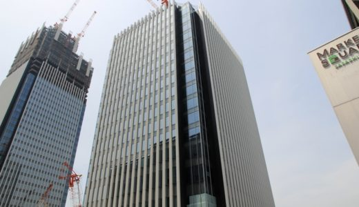 ささしまライブ24地区内複合施設「グローバルゲートEASTタワー」の建設状況16.05