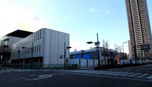 ザ・シンフォニーホールの東側に建設されるタワーマンション(仮称)大淀南2丁目計画建築計画の状況 16.02