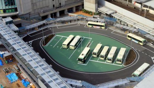 大阪駅南広場整備の状況 17.01 サウスゲートビルディングの東側にウッドデッキが登場!
