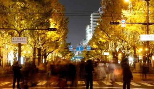 御堂筋イルミネーション2015〜大阪 光の饗宴2015