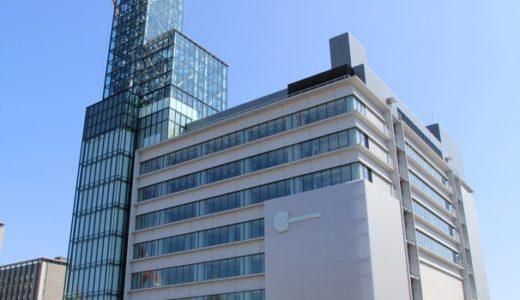 ささしまライブ24地区東街区で工事が進む「中京テレビ放送新社屋」15.09