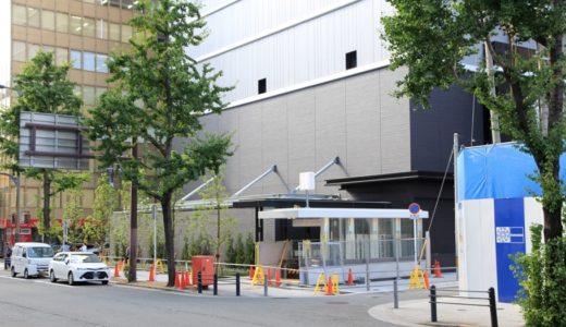 閉鎖されていた地下鉄本町駅の17番出口が間もなく復活!新装された17番出口は浸水対策用の止水板が設置される!